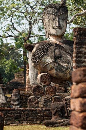 The Buddha in temple , Kamphaeng Phet