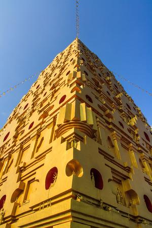 bodhgaya: The golden stupa Bodhgaya ,  Kanchanaburi