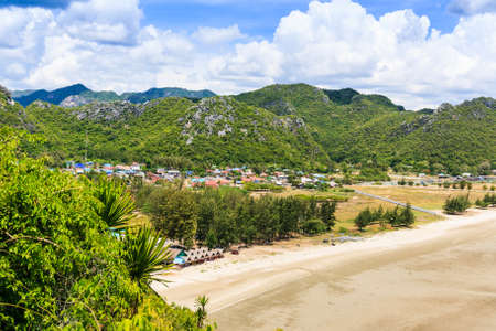 relent: Fishing villages in the valley Stock Photo
