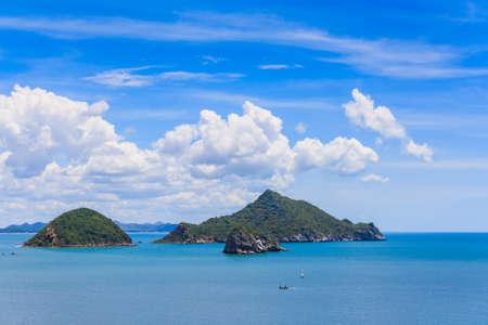 relent: Blue sea , Prachuap Khiri Khan, Thailand