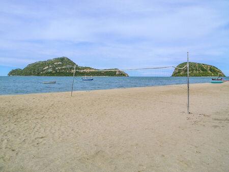 relent: Beach volley, Prachuap Khiri Khan, Thailandia