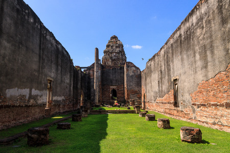 lop: Phra Si Mahathat temple Lopburi Province in Thailand Stock Photo