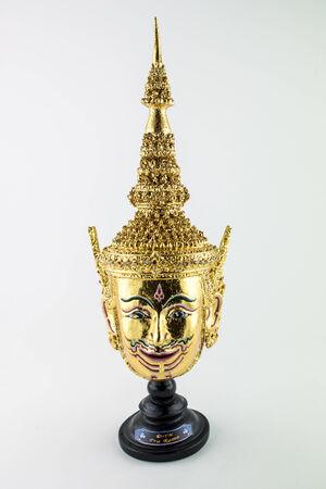 pantomime: pantomima modelo Rama en Tailandia