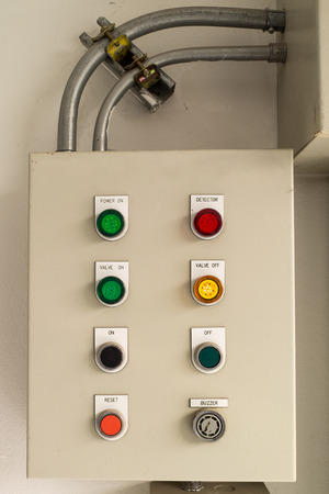 control box: control Box in the Factory