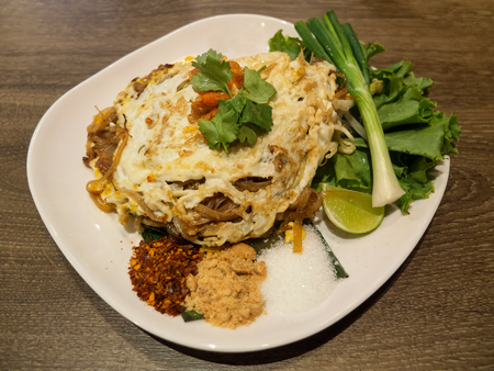 Pad Thai Thailand spicy food photo