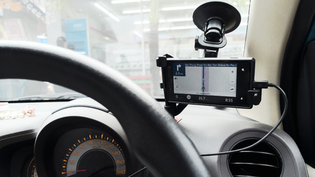 GPS Was used in the car