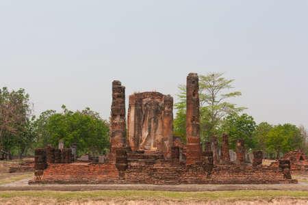 sukhothai: Buddha statue in Sukhothai Province of Thailand Stock Photo