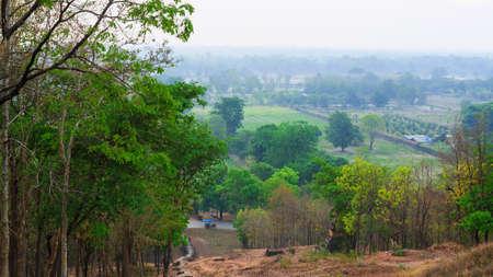 atmosfera: Atm�sfera de la ma�ana El amanecer de un ambiente rural