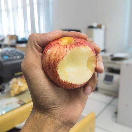 gnaw: Apple Fruit Sweet and crispy