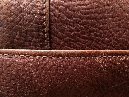 cuero vaca: Background Image of genuine leather Foto de archivo