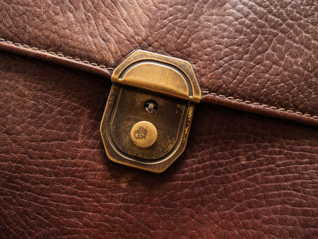 grapnel: Background Image of genuine leather Stock Photo