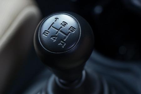 versnellingspook Manual Type van auto's Stockfoto