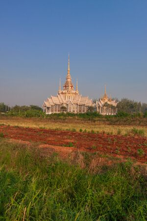ratchasima: Temple in Nakhon Ratchasima Province of Thailand