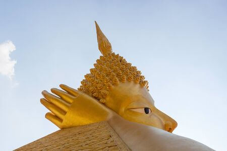 singburi: Golden Buddha in Singburi Province of Thailand