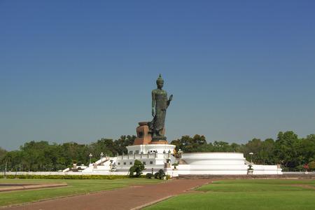 nakhon pathom: Buddha statue in Nakhon Pathom Province of Thailand Stock Photo