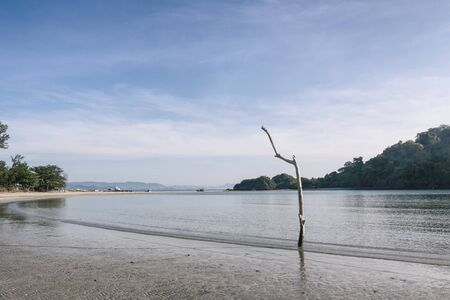 khan: The beach , Prachuap Khiri Khan Province of Thailand Stock Photo
