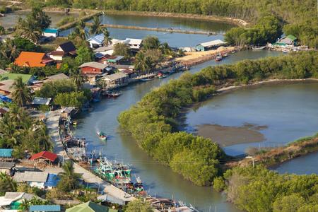 khan: River in Prachuap Khiri Khan Province of Thailand