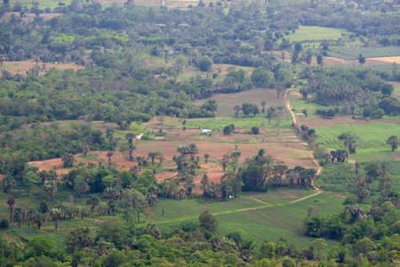 nakhon: Countryside in Nakhon Ratchasima Province of Thailand Stock Photo