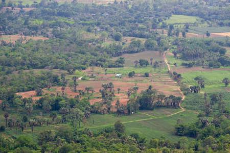 ratchasima: Countryside in Nakhon Ratchasima Province of Thailand Stock Photo