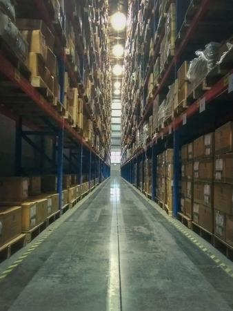 Warehouse Rack of the Company