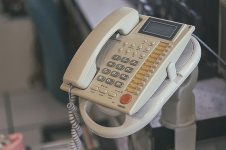 Old phone in the office