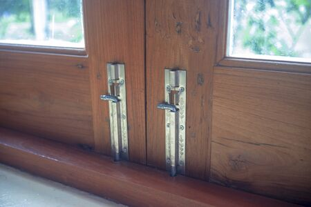 Old style door locks in the house