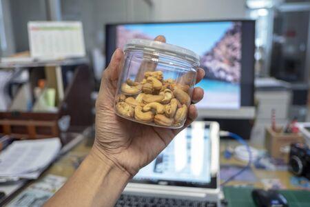 Cashew nuts , High protein foods 版權商用圖片