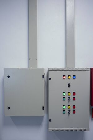 The Switch control Box in the Factory