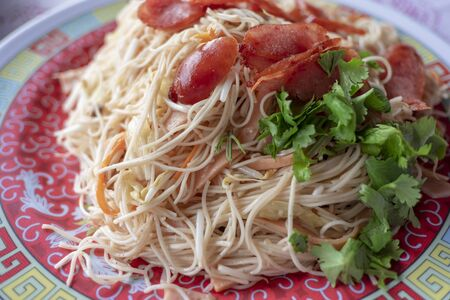 The Fried Noodles ,Thailand food delicious