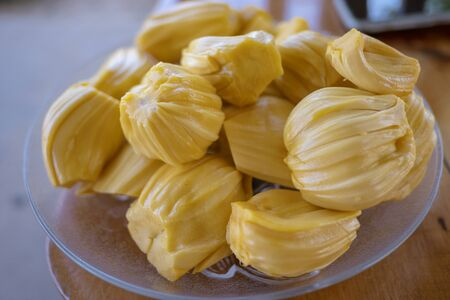 The Fresh Jackfruit in dish
