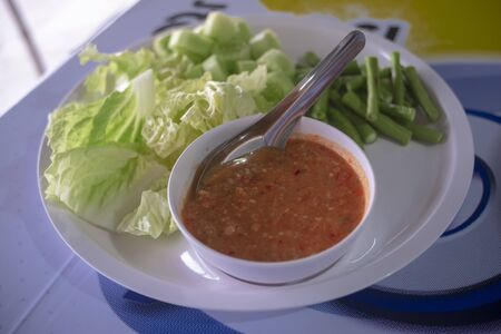 Shrimp Paste , Spicy Thai food and delicious