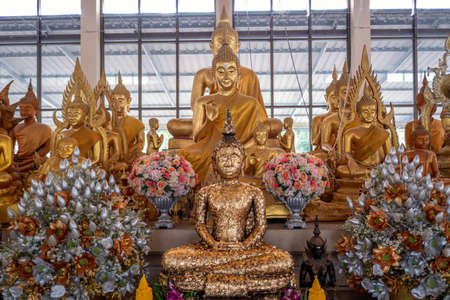 The Buddha statue in Thailand Standard-Bild