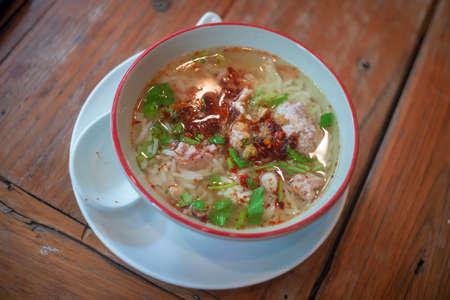 Thai Congee or Thai Rice Porridge Standard-Bild