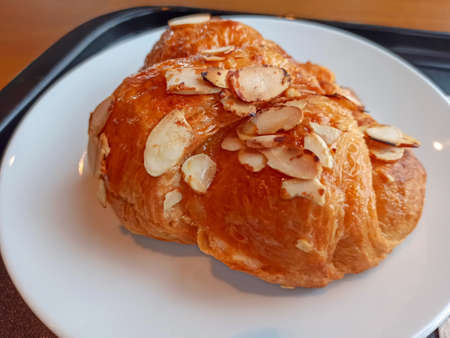 Classic Croissant served with coffee