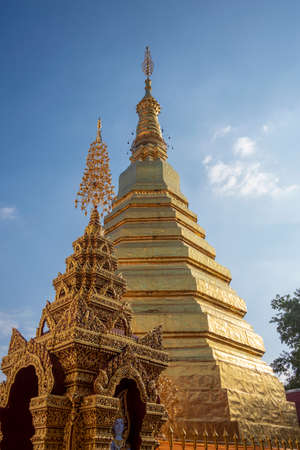 The Golden pagoda in Thailand