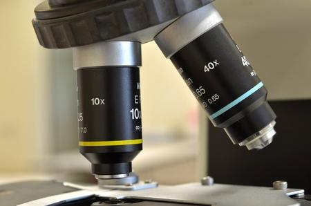 closeup microscope