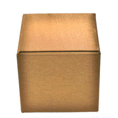 brown box: brown box isolated