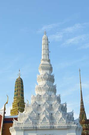 Wat Phra Kaew at bangkok of thailand photo