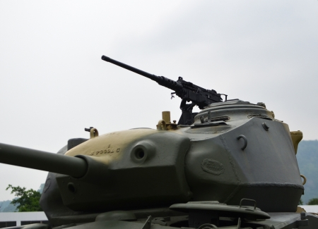 Army forest tank Stock Photo - 14450641