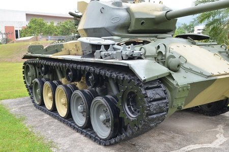 Army forest tank
