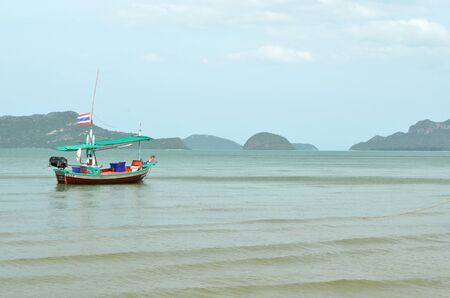 Fishing trawler on the water, Thailand Stock Photo - 14450718
