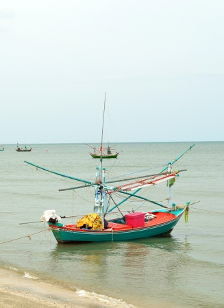 Fishing trawler on the water, Thailand Stock Photo - 14450638
