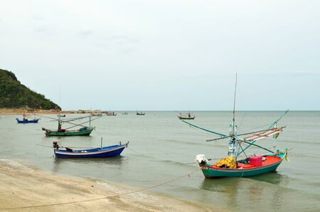 Fishing trawler on the water, Thailand Stock Photo - 14450729