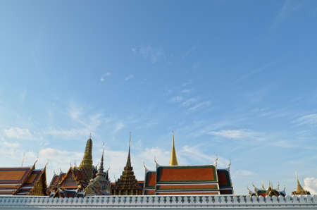 Wat Phra Kaew at bangkok of thailand photo