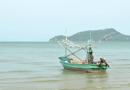 Fishing trawler on the water, Thailand Stock Photo - 14450826