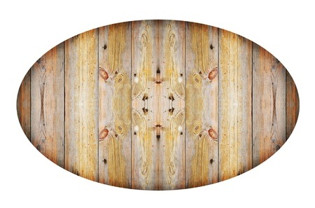 old wood plank isolated on white photo