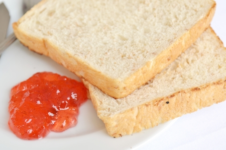 A good piece of toast with jam, Strawberry Butter Gallery photo