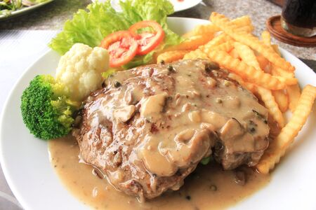 Beef steak photo