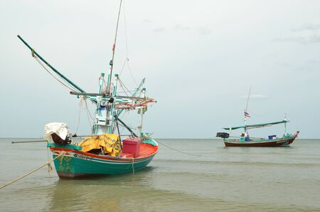 commercial fishing: Fishing trawler on the water, Thailand