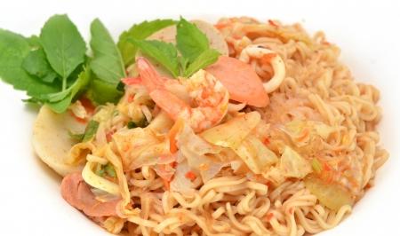 Spicy pork salad , Thai style food Asia photo